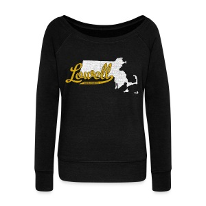 Lowell MA - Women's Wideneck Sweatshirt
