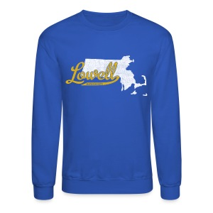 Lowell MA - Crewneck Sweatshirt