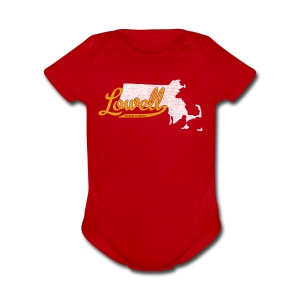 Lowell MA - Short Sleeve Baby Bodysuit
