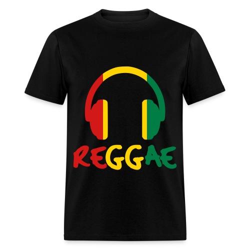 Reggae Headphones (Men) - Men's T-Shirt