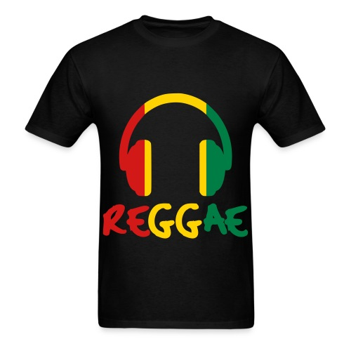 Reggae Headphones (Men) - Men's T-Shirt