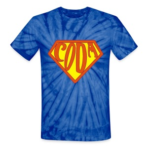hippie coda power - Unisex Tie Dye T-Shirt