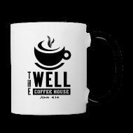 Mugs & Drinkware ~ Contrast Coffee Mug ~ Contrast Coffee Mug, Black Logo