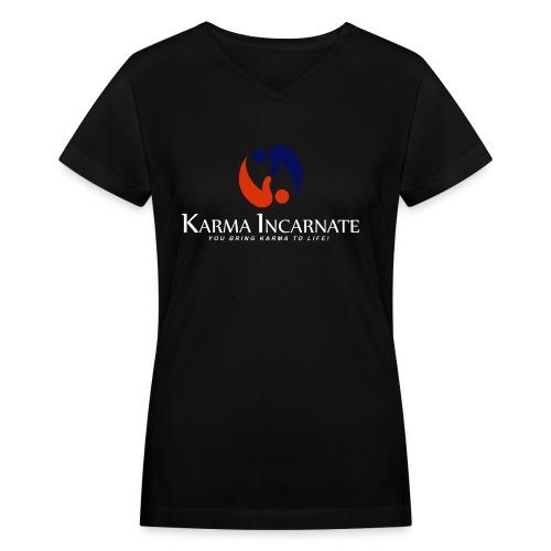 V-Neck Color Basic - Women's V-Neck T-Shirt