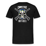 T-Shirts ~ Men's Premium T-Shirt ~ 2015 Connecticut Infidel