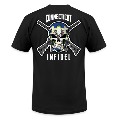 2015 Connecticut Infidel - Men's T-Shirt by American Apparel