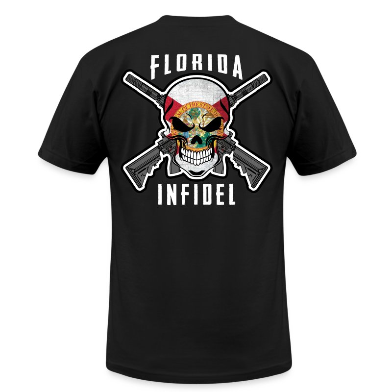 2015 Florida Infidel - Men's T-Shirt by American Apparel