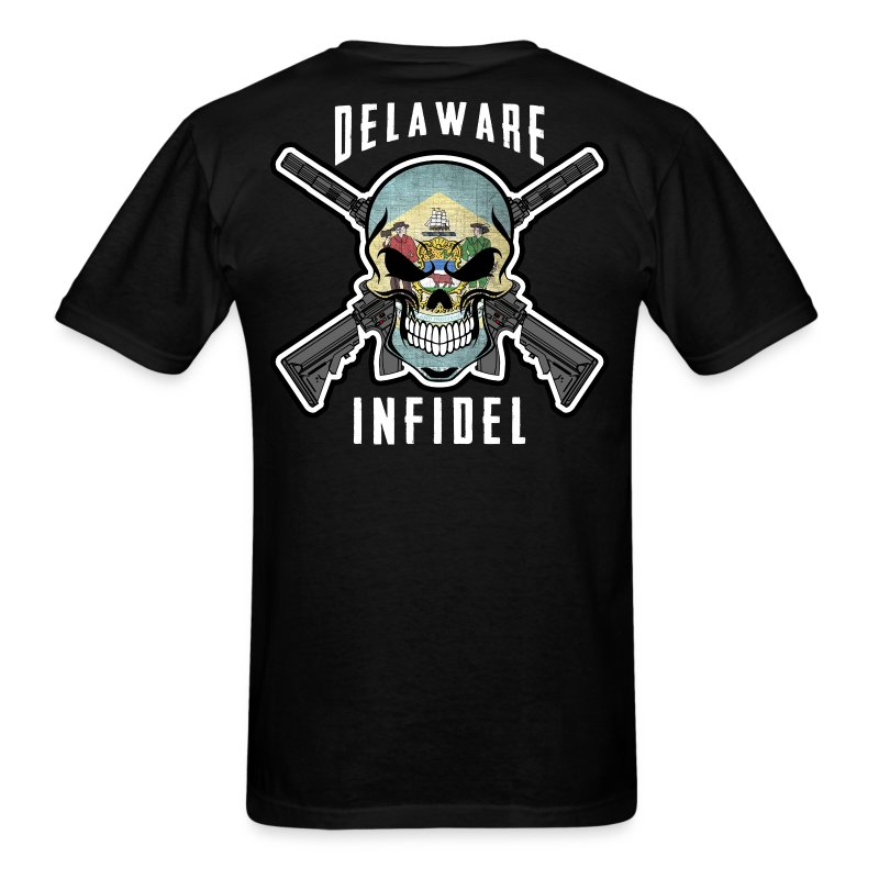 2015 Delaware Infidel - Men's T-Shirt