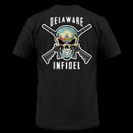 T-Shirts ~ Men's T-Shirt by American Apparel ~ 2015 Delaware Infidel