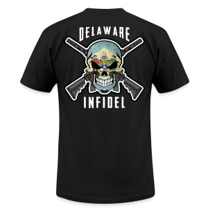2015 Delaware Infidel - Men's T-Shirt by American Apparel