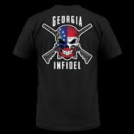 T-Shirts ~ Men's T-Shirt by American Apparel ~ 2015 Georgia Infidel