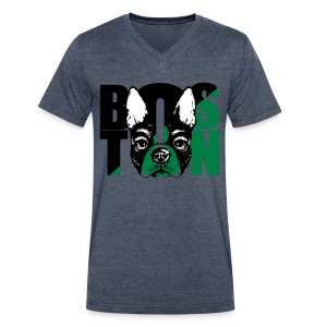 Boston Love - Men's V-Neck T-Shirt by Canvas