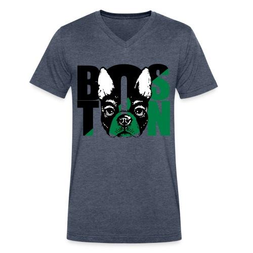 Boston Love - Men's V-Neck T-Shirt by Canvas