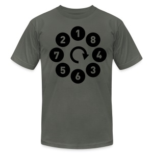 V8 firing - Men's T-Shirt by American Apparel