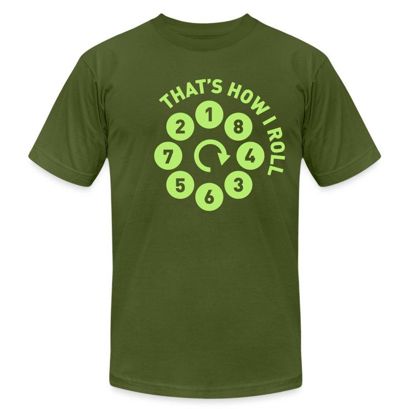 Rolling the V8 way - Men's Fine Jersey T-Shirt