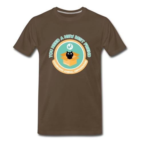 New Best Friend Tee - Men's Premium T-Shirt