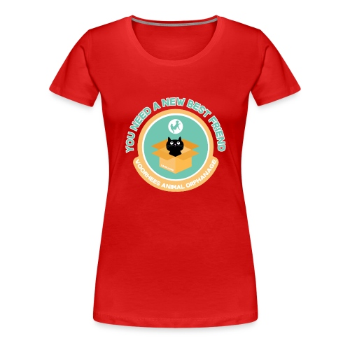 New Best Friend Tee - Women's Premium T-Shirt