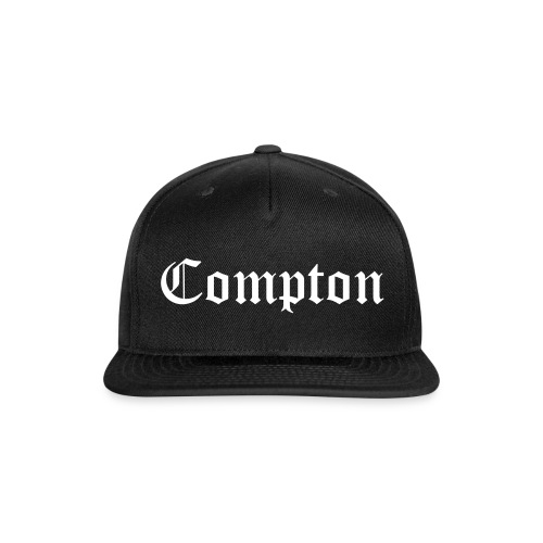 Compton cap - Snap-back Baseball Cap