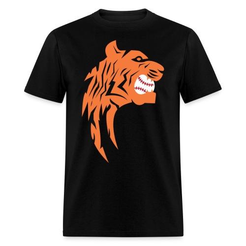 Mens Tiger Baseball Tee - Men's T-Shirt