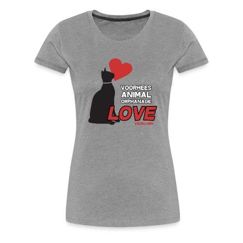 Cat Love Tee - Women's Premium T-Shirt