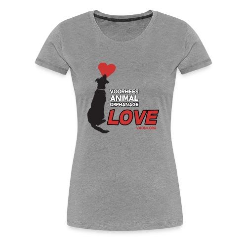 Dog Love Tee - Women's Premium T-Shirt