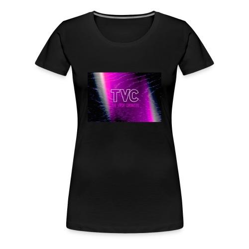 TVC SHE vapes TEE - Women's Premium T-Shirt