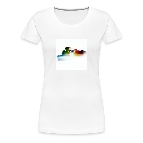 Cloudy She TVC Tee - Women's Premium T-Shirt