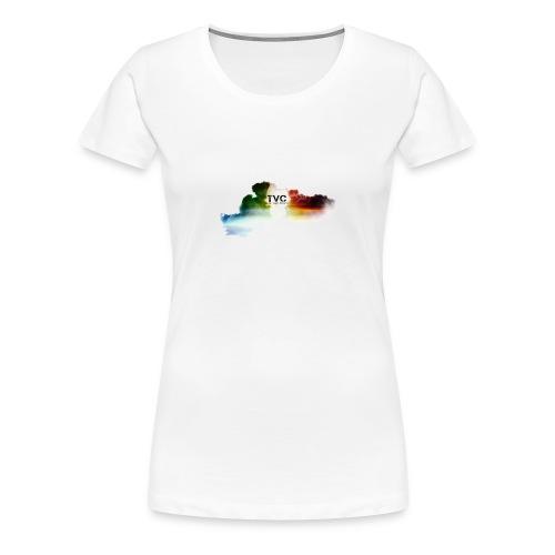 Cloudy She TVC Tee - Women's Premium T-Shirt