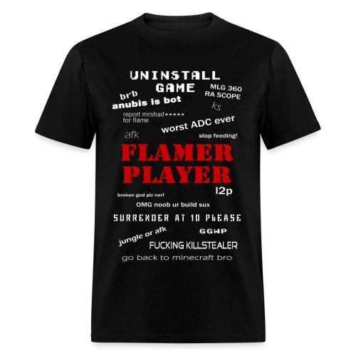 Flamer Player : Smite version - Men's T-Shirt