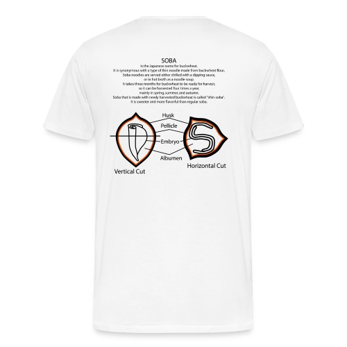 For Men's New White design - Men's Premium T-Shirt