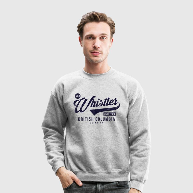 Whistler British Columbia Long Sleeve Shirts - Crewneck Sweatshirt