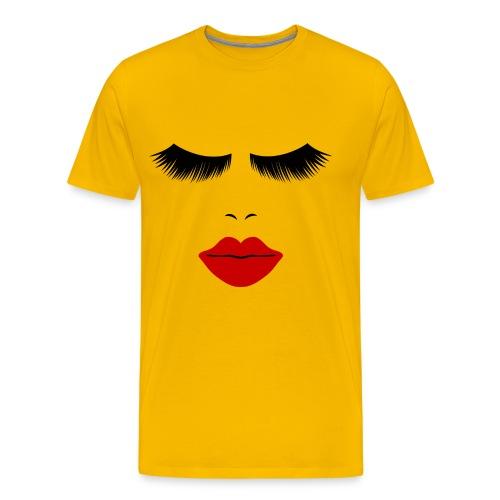 Hot Lips - Men's Premium T-Shirt