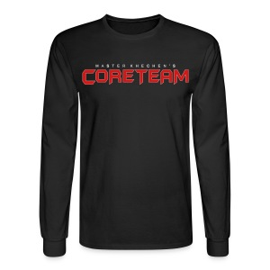 Men's Long Sleeve (Black) - Men's Long Sleeve T-Shirt