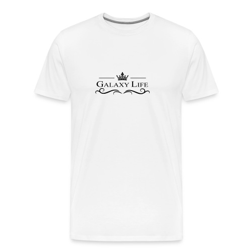 Galaxy Life White Plain - Men's Premium T-Shirt