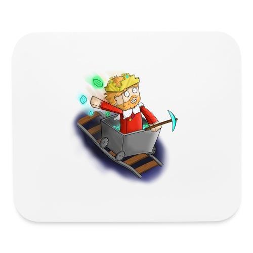 Minecart Mouse Mat - Mouse pad Horizontal