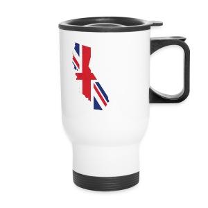 Brit in Cali Travel Mug - Travel Mug