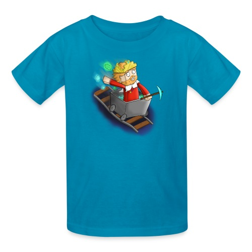 Kids Minecart Shirt - Kids' T-Shirt