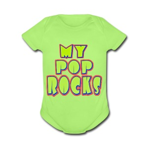 Happy Daddy - Short Sleeve Baby Bodysuit