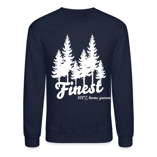 Finest Trees Drawstring - Crewneck Sweatshirt