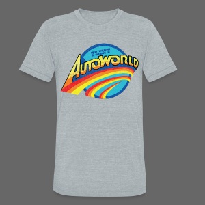 Classic Autoworld - Unisex Tri-Blend T-Shirt by American Apparel