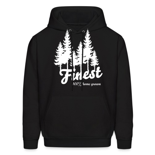 Finest Trees Drawstring - Men's Hoodie