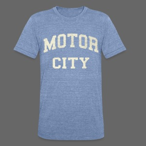 Motor City Varsity - Unisex Tri-Blend T-Shirt by American Apparel