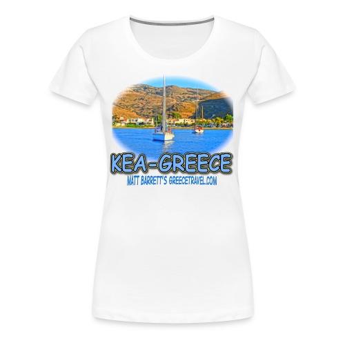 Kea Korissia Sailboats (women) - Women's Premium T-Shirt