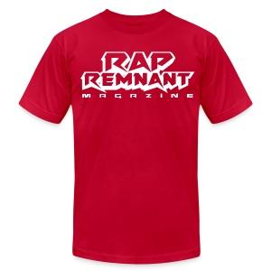 MENS - Rap Remnant Tee - RED - Men's Fine Jersey T-Shirt