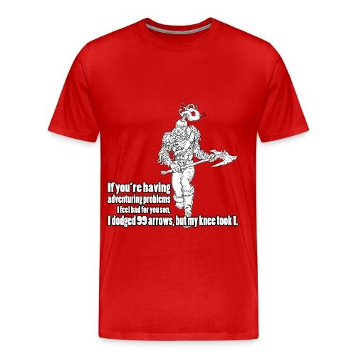 Elder Scrolls iii Morrowind T shirts For Sale - Men's Premium T-Shirt