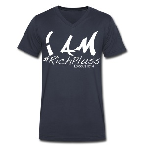 RichPluss V - Men's V-Neck T-Shirt by Canvas