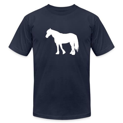 The Big Horse - Men's Fine Jersey T-Shirt