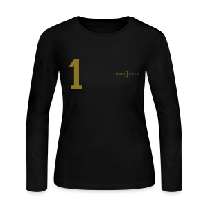 Hope #1 Jersey Long Sleeve Tee SE - Women's Long Sleeve Jersey T-Shirt
