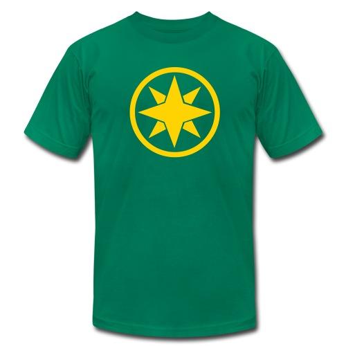 Samurai Green AA - Men's Fine Jersey T-Shirt