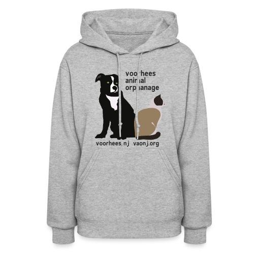 Dog and Cat Hoodie - Women's Hoodie